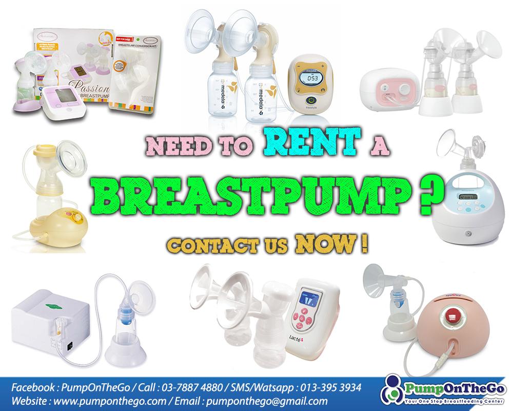 Breastpump rental service