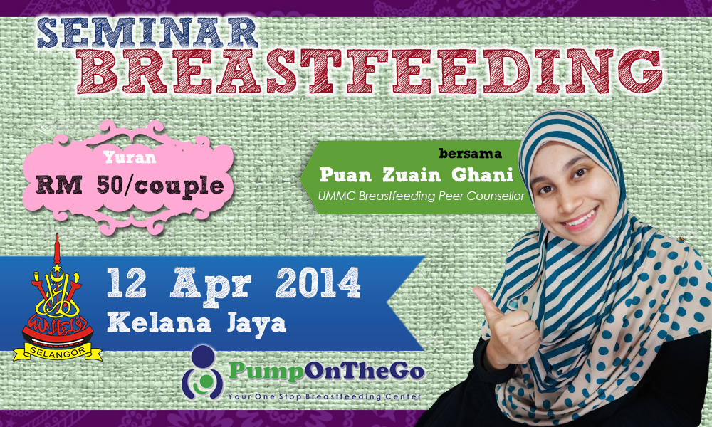 Seminar Breastfeeding From ZERO to HERO - 12 Apr 2014